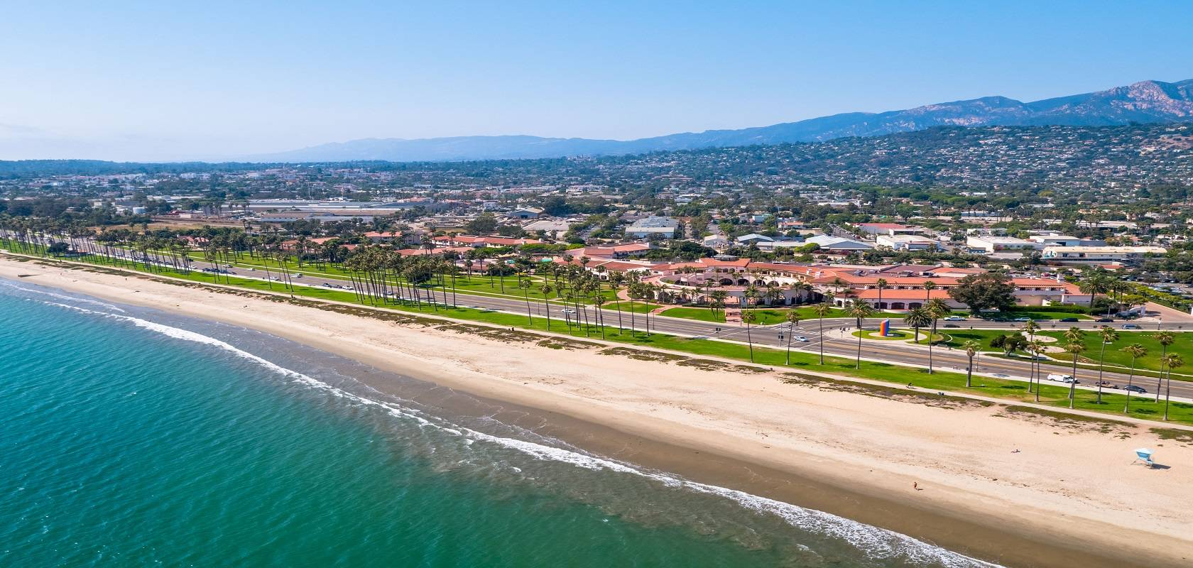 Resort, beach, Santa Barbara